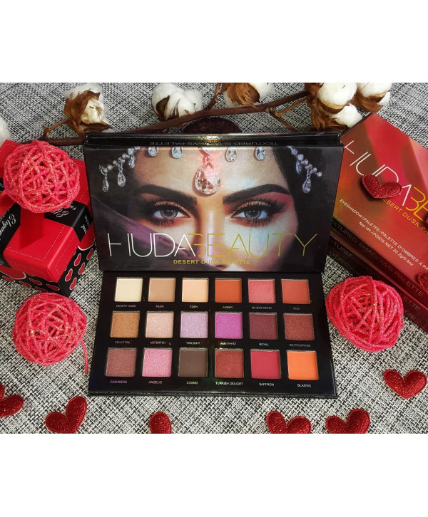 Палетка теней Huda Beauty Desert Dusk Eyeshadow Palette