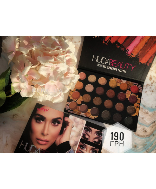 Huda Beauty Eye Shadows Pallet 3D (24 оттенка) Реплика