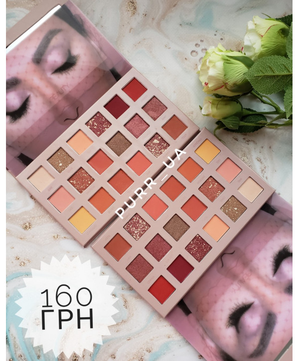 Палетка теней Huda Beauty THE NEW NUDE PALETTE