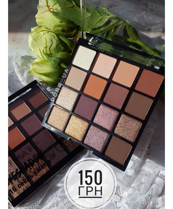 Тени для век DoDo Girl Matte Eyeshadow Palette Ultimate Fix Your Eyes 16 оттенков