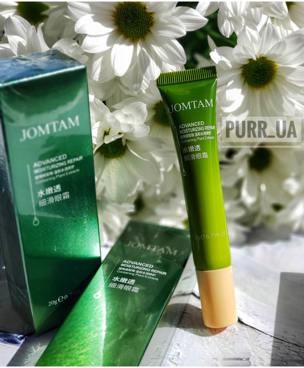Крем для век с растительными экстрактами и маслом авокадо Jomtam Containing Plant Extract Eye Cream, 20 гр